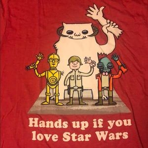 Star Wars Hands Up Funny T Shirt
